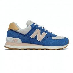 Chaussures New Balance 574 bleu dur