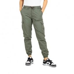 Pantalon Reflex LW Cargo Reell femme kaki