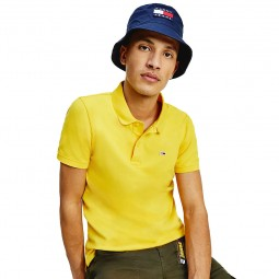 Polo Tommy Jeans Classics jaune