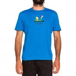 T-shirt Element x Peanuts bleu dur