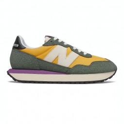 Sneakers femme New Balance 237 jaune/kaki/violet