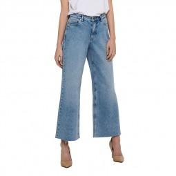 Jean evasé Only bleu jean