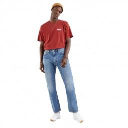 Jean's Levi's® 551z™ Authentic Straight Jeans bleu clair délavé