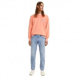 Jean's Levi's® 551z™ Straight Crop Jeans bleu clair délavé