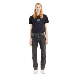Jean's Levi's® 502™ Taper Jeans gris foncé délavé