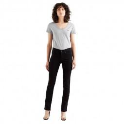 Jean's Levi's® 312™ Shaping Slim Jeans noir