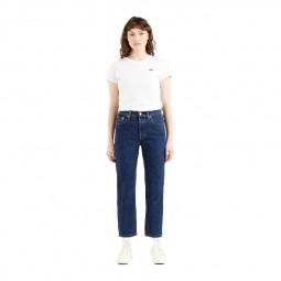 Jean's Levi's® 501® Original Crop Jeans stone