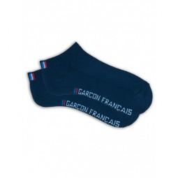 Socquettes Garçon Français bleu marine