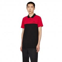 Polo Armani Exchange rouge noir