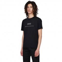 T-shirt col rond Armani Exchange noir