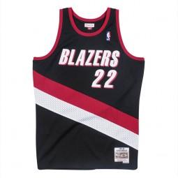 Clyde Drexler Blazers 22 noir