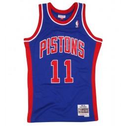 Isiah Thomas Pistons 11 Detroit n°11 bleu