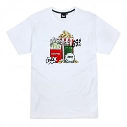 T-shirt Tealer Netflix Pack blanc