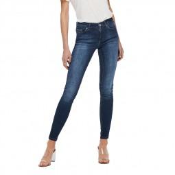 Jeans Only skinny Blush bleu stone délavé