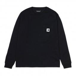 T-shirt Carhartt femme Pocket noir
