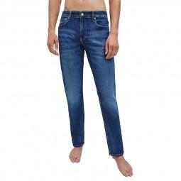 Jeans slim homme Calvin Klein bleu stone délavé