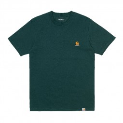 T-shirt manches courtes Carhartt S/S Trap vert foncé