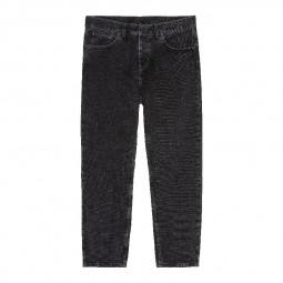 Pantalon Carhartt WIP Newel Pant noir délavé
