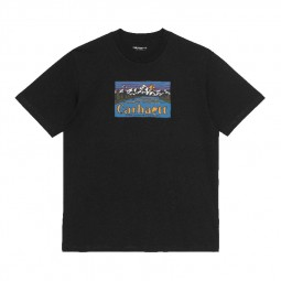 T-shirt manches courtes Carhartt S/S Great Outdoor noir