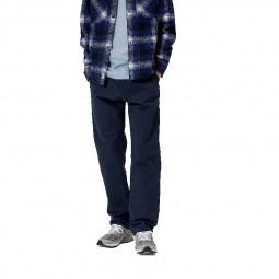 Pantalon Carhartt Ruck Single Knee Dearborn bleu marine