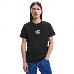 T-Shirt Calvin Klein noir