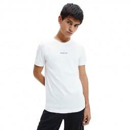 T-Shirt Calvin Klein blanc