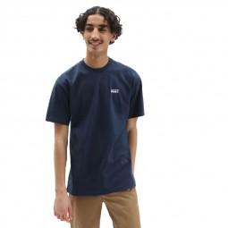 T-Shirt manches courtes Vans Left Chest Logo Plus bleu marine