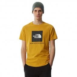 T-shirt The North Face Raglan Redbox camel/noir