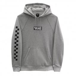 Sweat à capuche Vans Versa Standard gris chiné