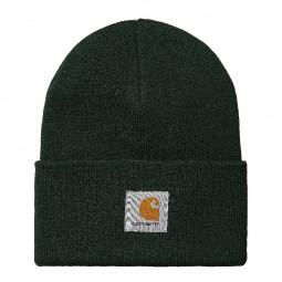 Bonnet Carhartt Acrylic Watch Hat vert foncé