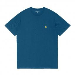 T-shirt manches courtes Carhartt S/S Chase bleu
