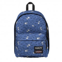 Sac à Dos Eastpak Out Of Office Peanuts Snoopy bleu