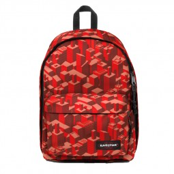 Sac à Dos Eastpak Out Of Office Pixel Red rouge