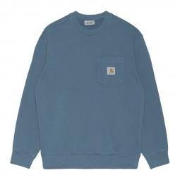 Sweat Carhartt Pocket bleu