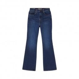 Jean's Levi's® taille haute pattes d'eph 70's bleu