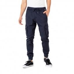 Pantalon cargo Reell Reflex Rib bleu marine