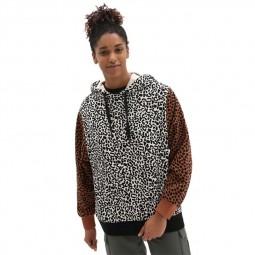 Sweat Vans Patchwork Animal léopard, guépard, zèbre