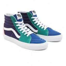 Chaussures Vans SK8-Hi Retro Court vert bleu