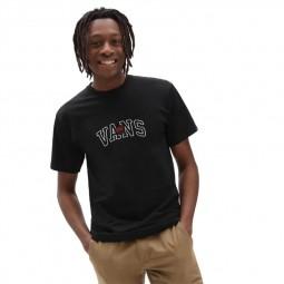 T-Shirt manches courtes Vans 66 Champs noir