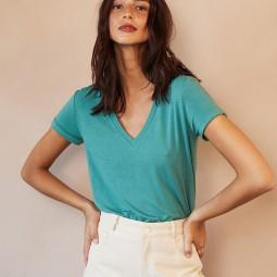 T-shirt Grace & Mila Daril vert