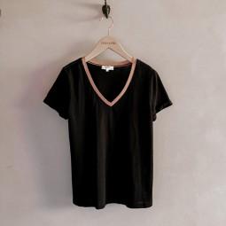 T-shirt Grace & Mila Decolis noir