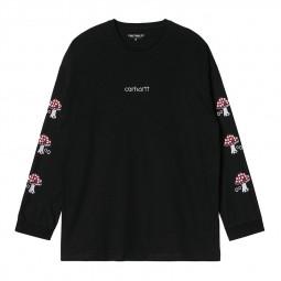T-shirt Carhartt femme Hartt Script noir