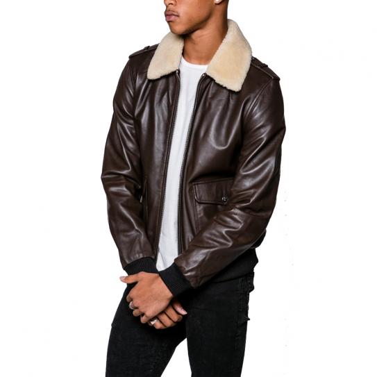 Manteau cuir LADC