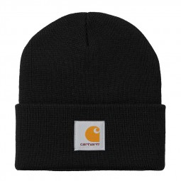 Bonnet Carhartt Short Watch Hat noir