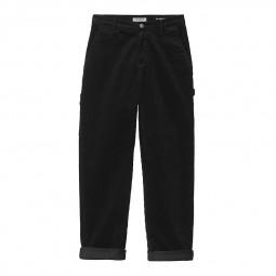Pantalon velours femme Carhartt W' Pierce Pant noir