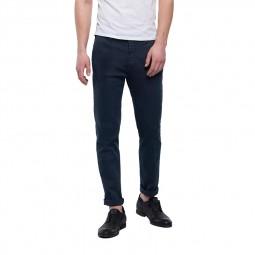 Pantalon chino Replay Hyperflex bleu marine