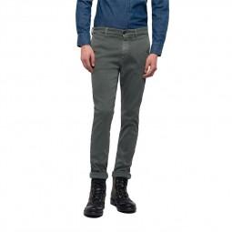 Pantalon chino Replay Hyperflex kaki
