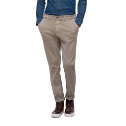 Pantalon chino Replay Hyperflex beige