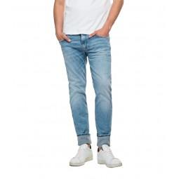 Jean's slim Replay Anbass bio bleu clair délavé