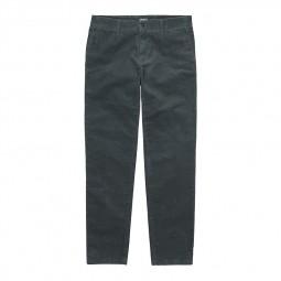 Pantalon Carhartt Sid Pant en velours vert gris